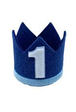 Little Blue Olive Birthday Crown Navy/Blue 1