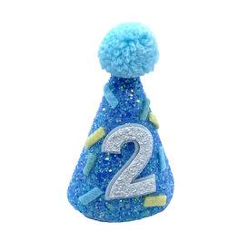 Little Blue Olive Party Hat Blue Sprinkle 2