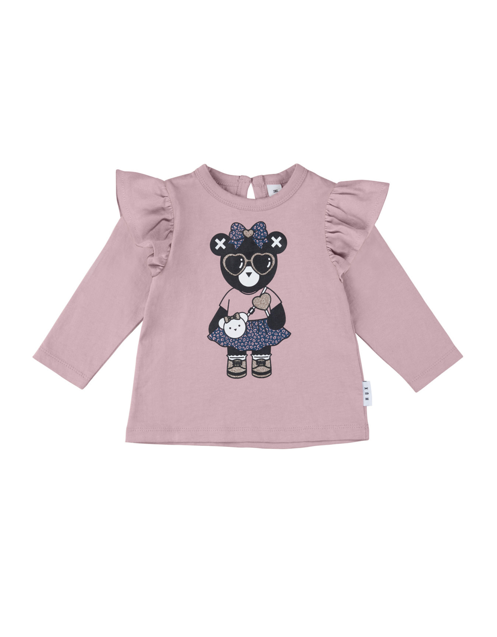 Huxbaby Hux Girl Frill Top Rose