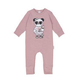 Huxbaby Panda Girl Romper