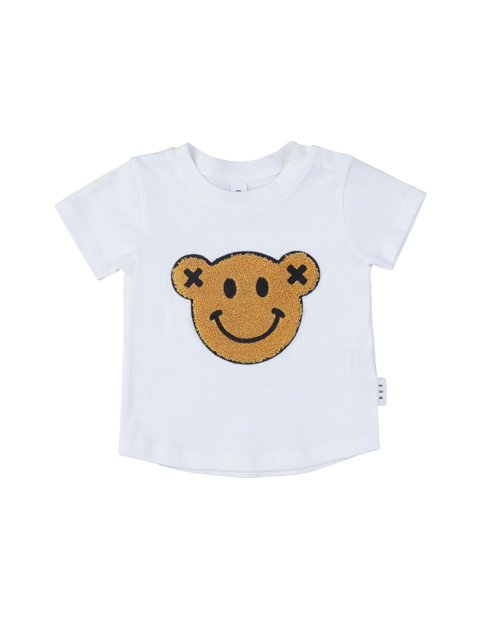 Huxbaby Smiley Tee White