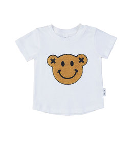 Huxbaby Smiley Tee White