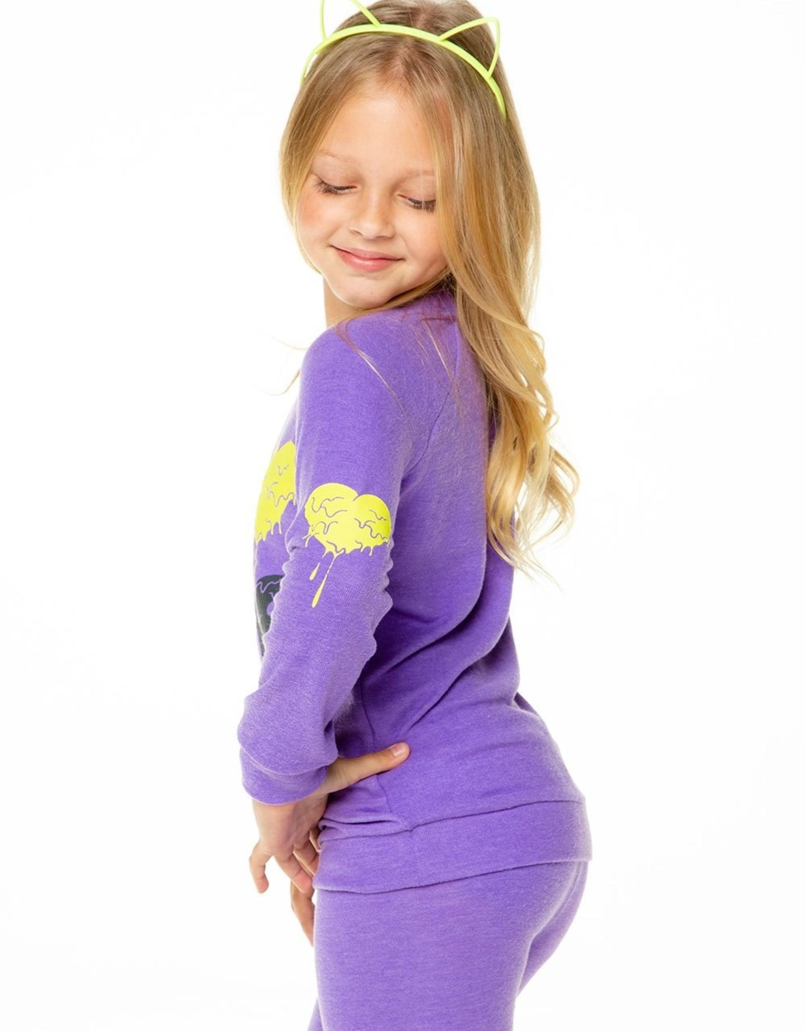 Chaser Brand I Love Slime Genie Purple Pullover