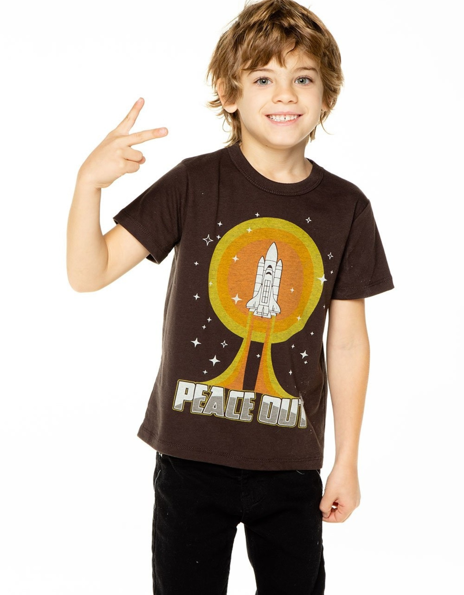 Chaser Brand Peace Out Rocket Tee