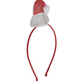 Bari Lynn 3D Santa Headband