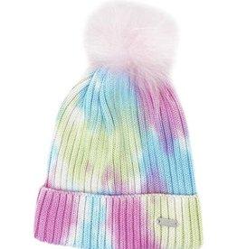 Bari Lynn Tie Dye Winter Hat Pastel