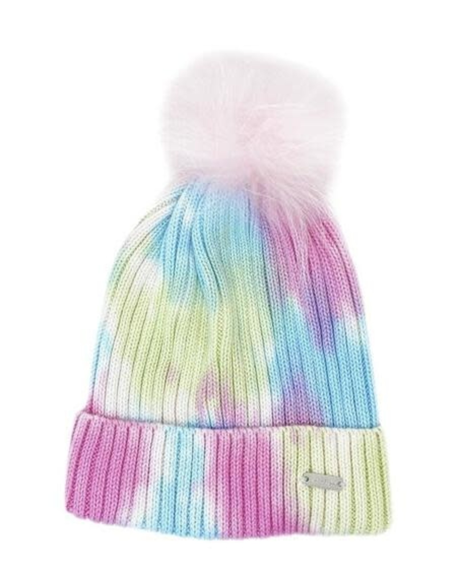 Bari Lynn Tie Dye Winter Hat Pastel - Toddler