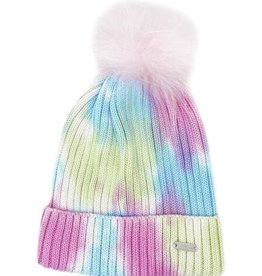 Bari Lynn Tie Dye Winter Hat Pastel - Toddler
