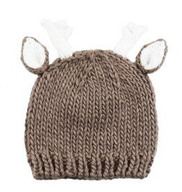 Blueberry Hill Knit Hat - Tan Deer