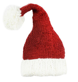 Blueberry Hill Knit Hat - Santa
