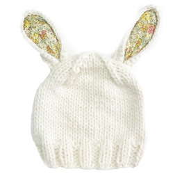 Blueberry Hill Knit Hat - Bunny Yellow/Cream