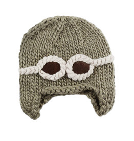 Blueberry Hill Knit Hat - Aviator
