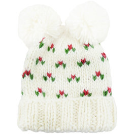 Blueberry Hill Knit Hat - Holiday