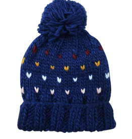 Blueberry Hill Knit Hat - Sawyer Navy
