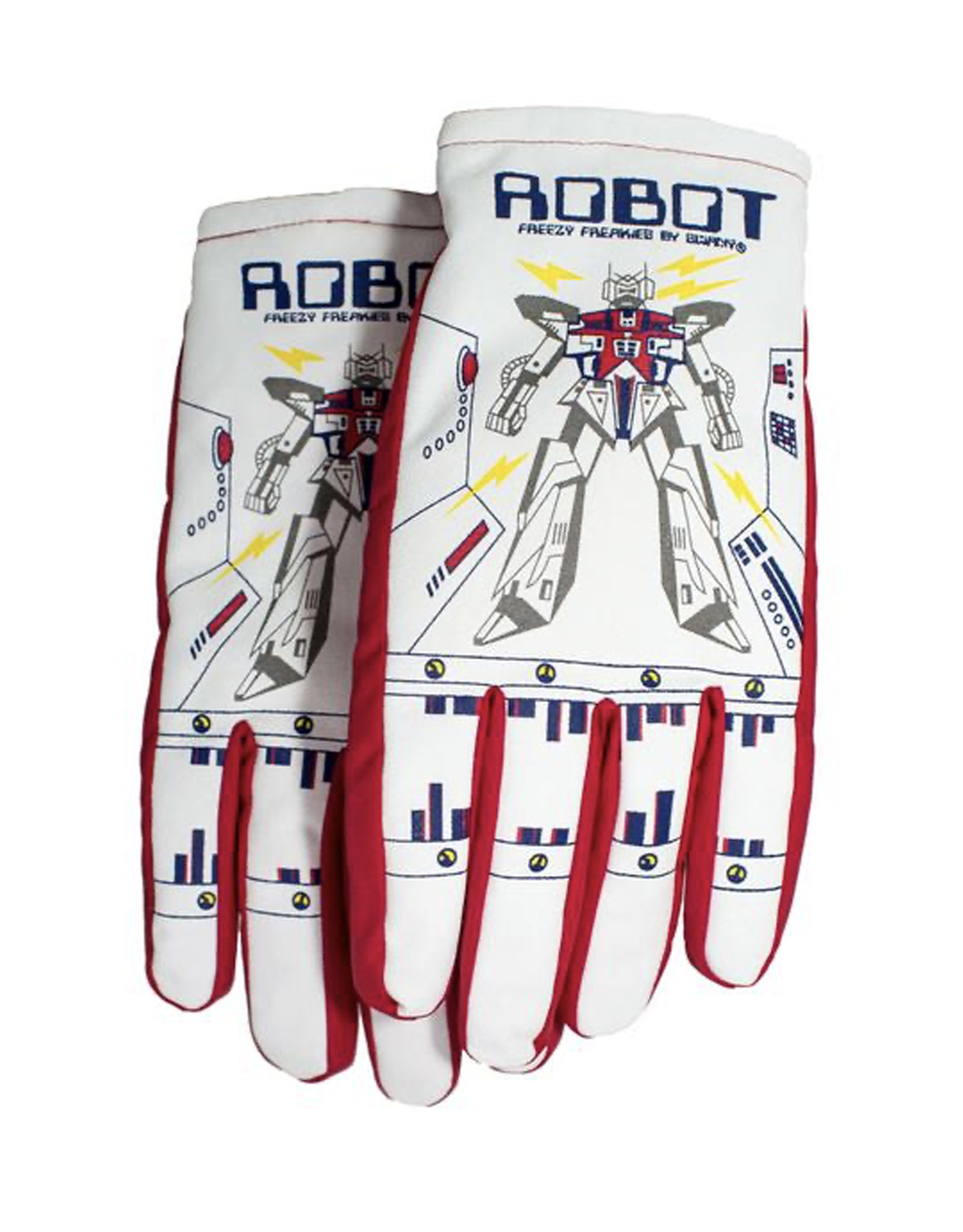 Freezy Freakies Robot Color Changing Gloves - Medium