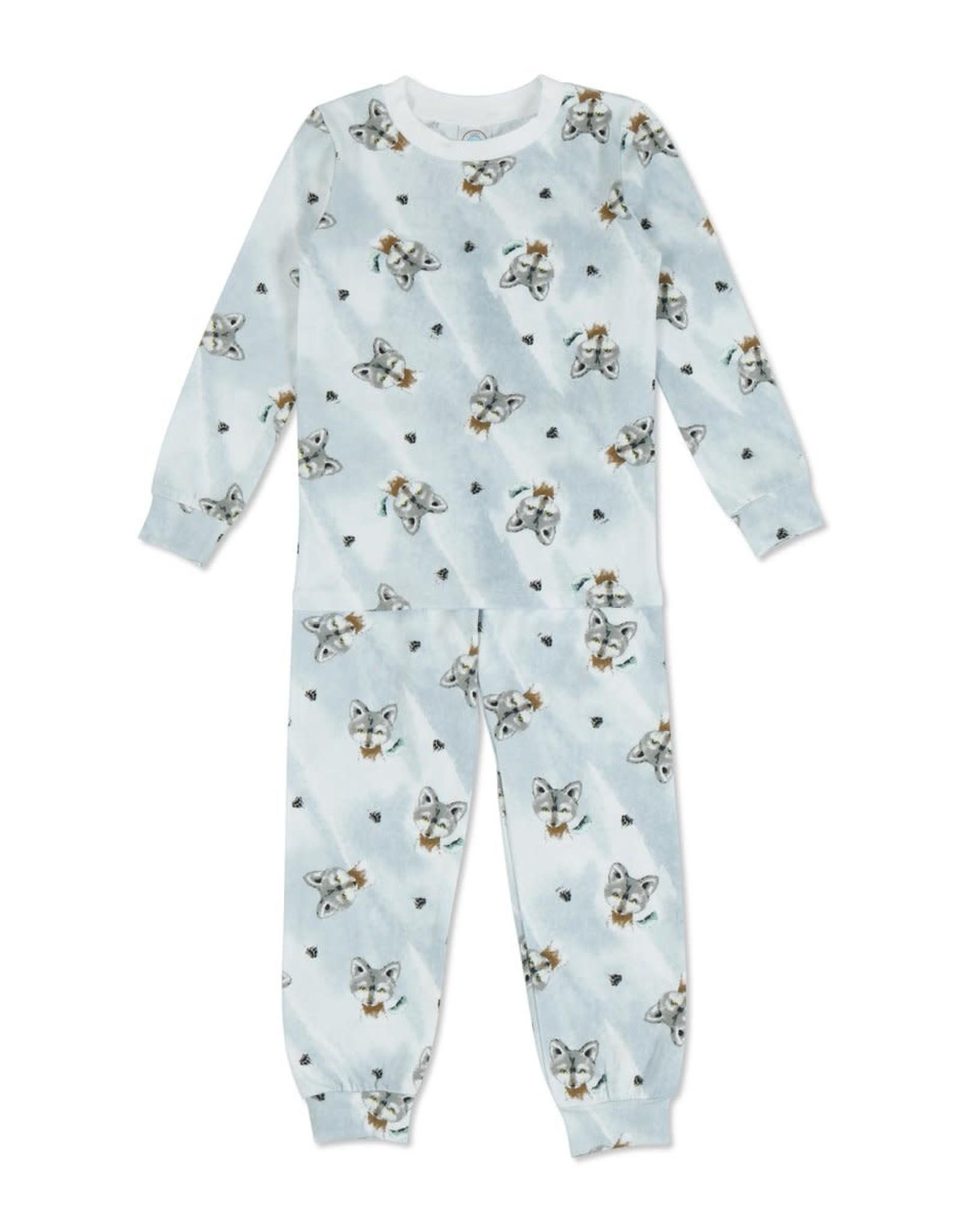 Esme Wolf Pajamas Set