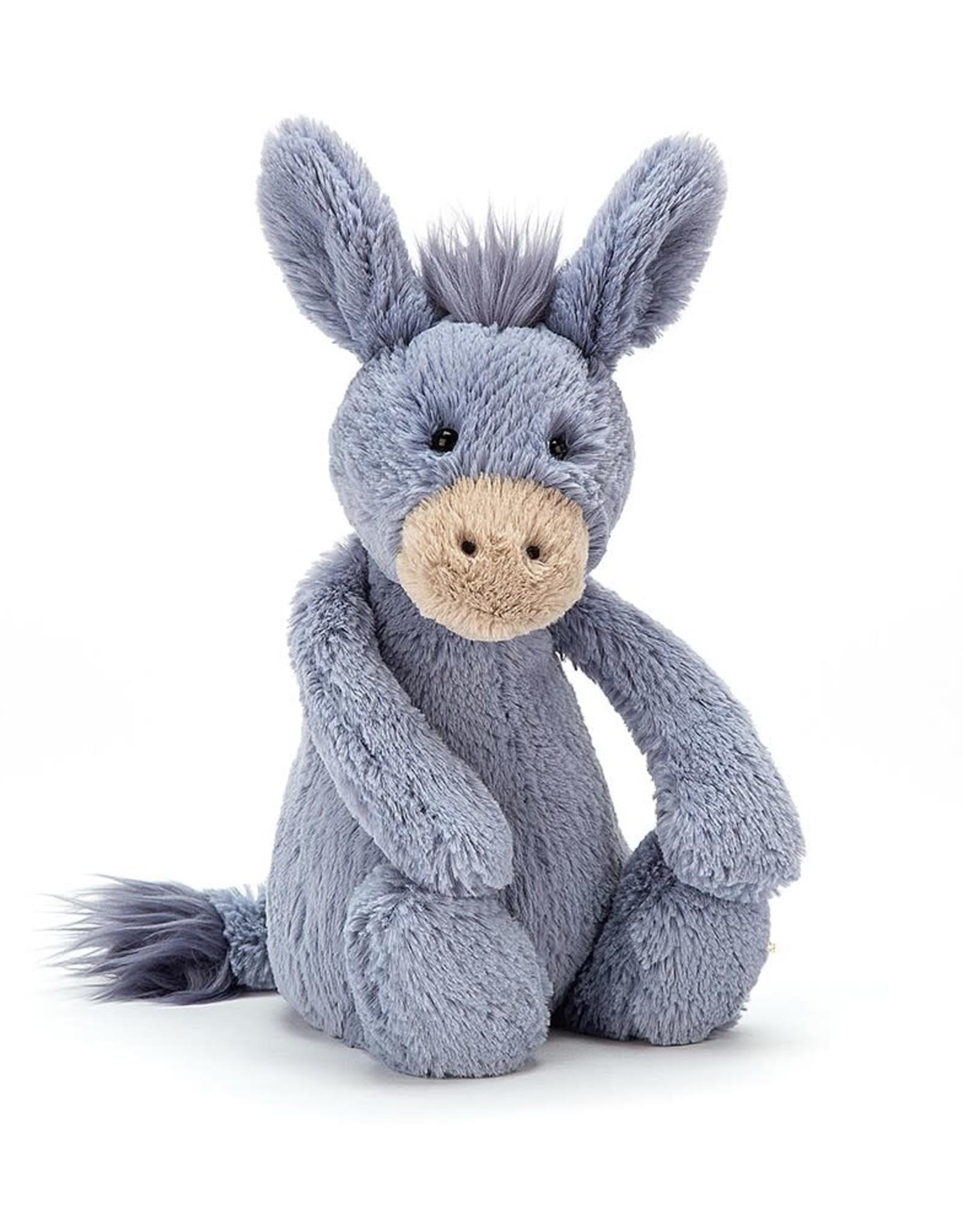 Jelly Cat JC Bashful Donkey Medium Blue