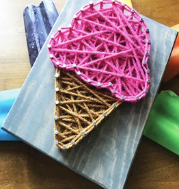 Strung By Shawna String Art Kit -  Ice Cream