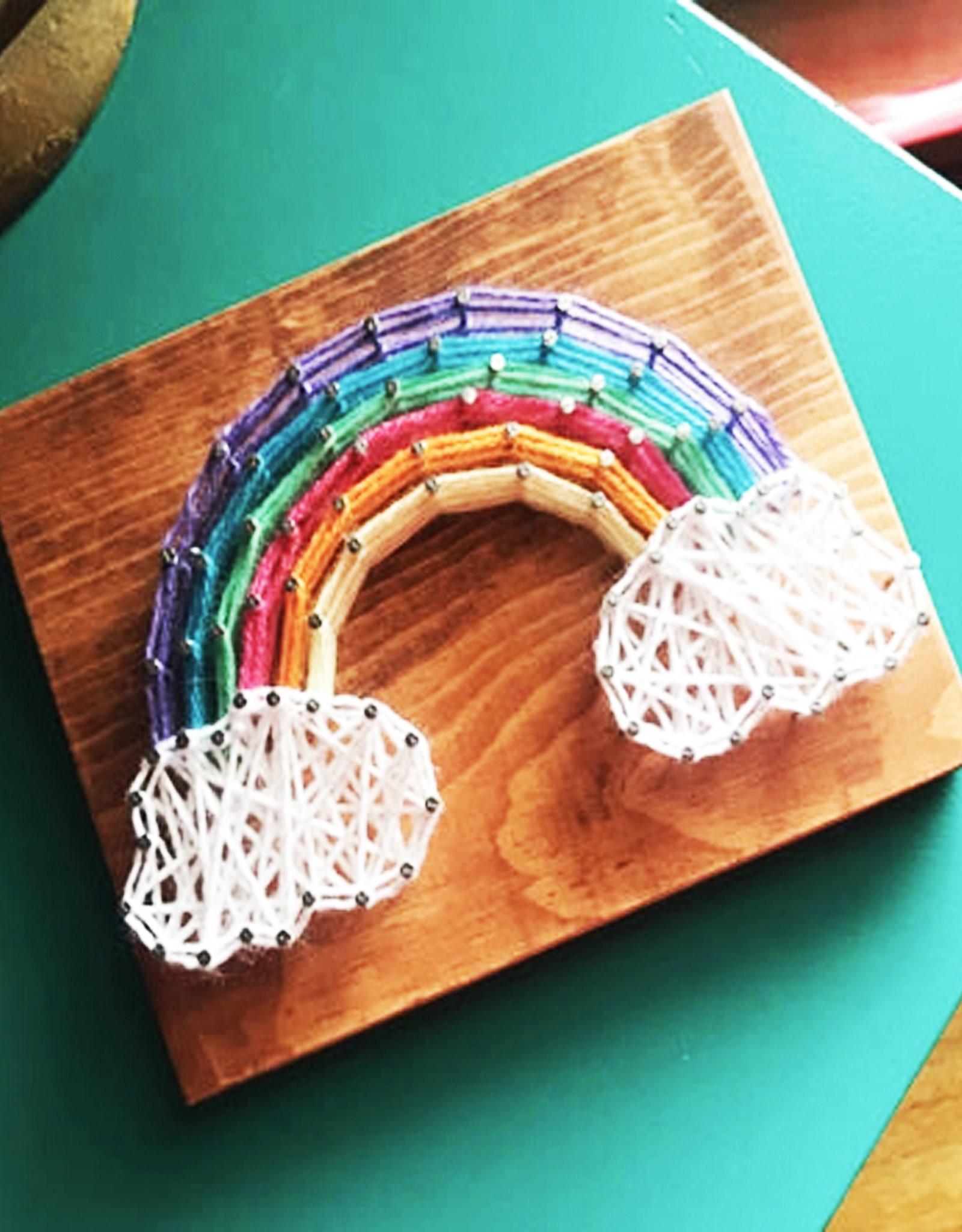 Strung By Shawna String Art Kit -  Rainbow