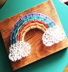Strung By Shawna String Art Kit -  Rainbow
