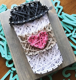 Strung By Shawna String Art Kit - Coffee