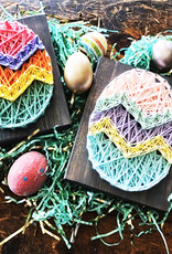 Strung By Shawna String Art Kit - Easter Egg