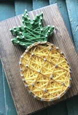 Strung By Shawna String Art Kit - Pineapple