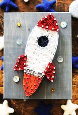 Strung By Shawna String Art Kit - Rocket