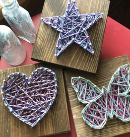 Strung By Shawna String Art Kit - Simple Shapes