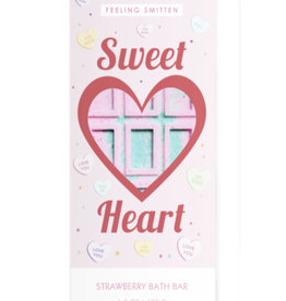 Feeling Smitten Valentine's Sweet Heart Rainbow Bath Bar
