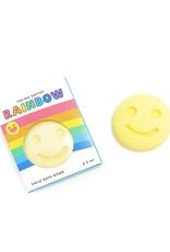 Feeling Smitten Rainbow Happy Face Bath Bomb