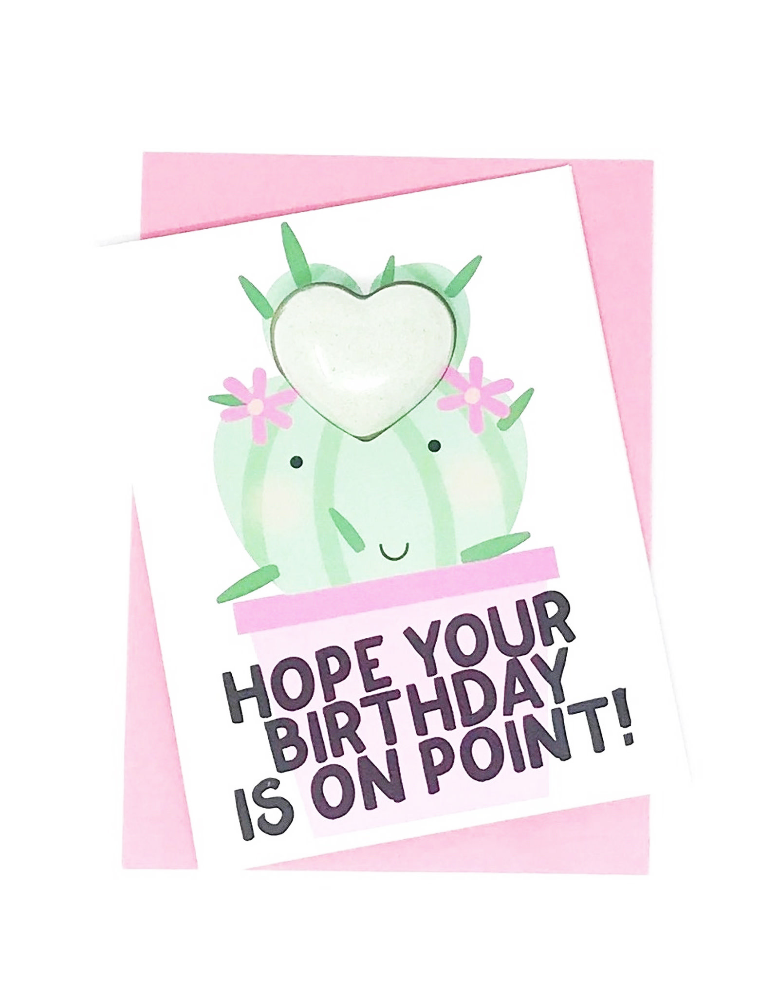 Feeling Smitten Hope Your Birthday is On Point! Bath Card