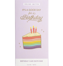 Feeling Smitten It's a good day for a birthday! Rainbow Bath Bar