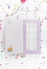 Feeling Smitten It's a good day for a birthday! Rainbow Bath Bar