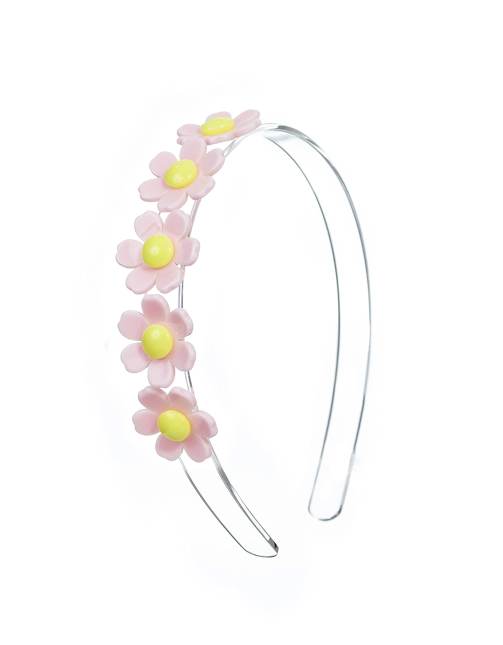 Lillies & Roses Daisy Centipede Headband- Light Pink