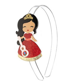 Lillies & Roses Headband Cute Doll w/ guitar