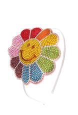 Bari Lynn Bari Lynn Rainbow Happy Flower Headband