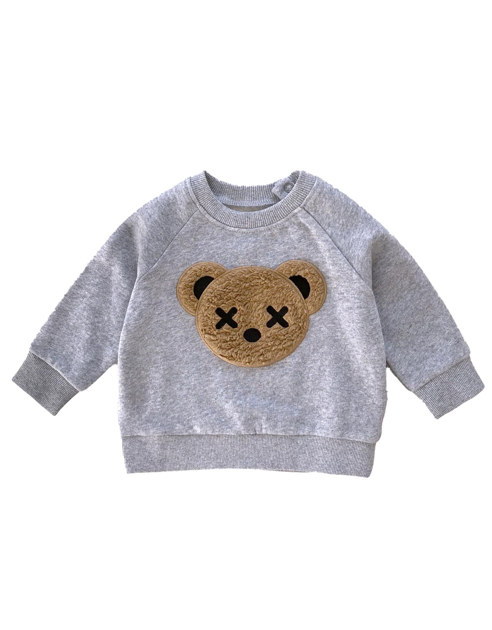 Huxbaby HuxBear Applique Sweatshirt