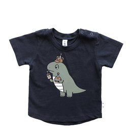Huxbaby Dino Tee (Midnight)