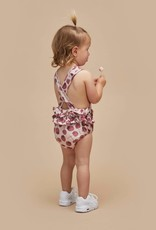 Huxbaby Berry Frill Playsuit (Rose)