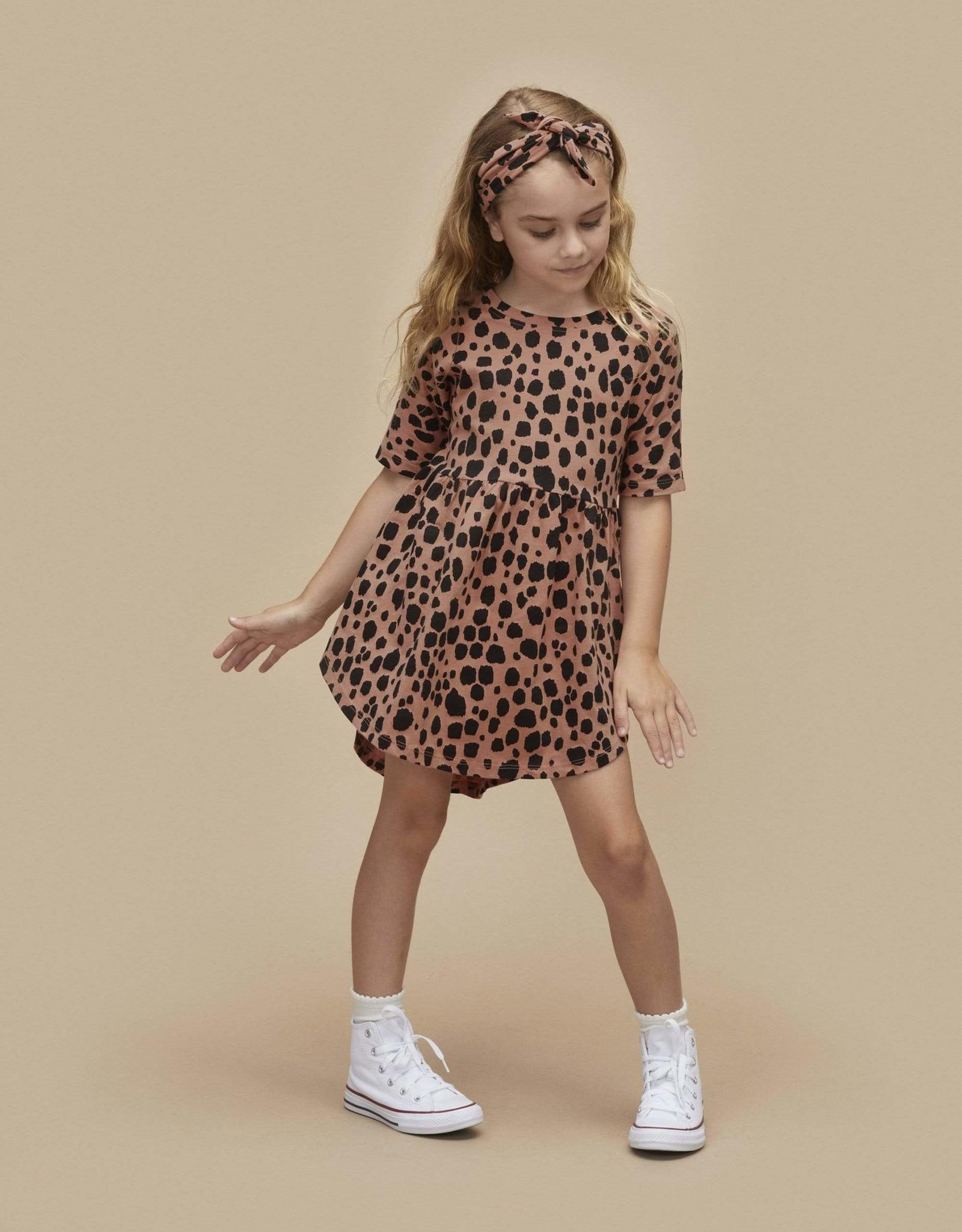 Huxbaby Ocelot Swirl Dress