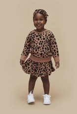 Huxbaby Shirred Skirt (Terracotta)