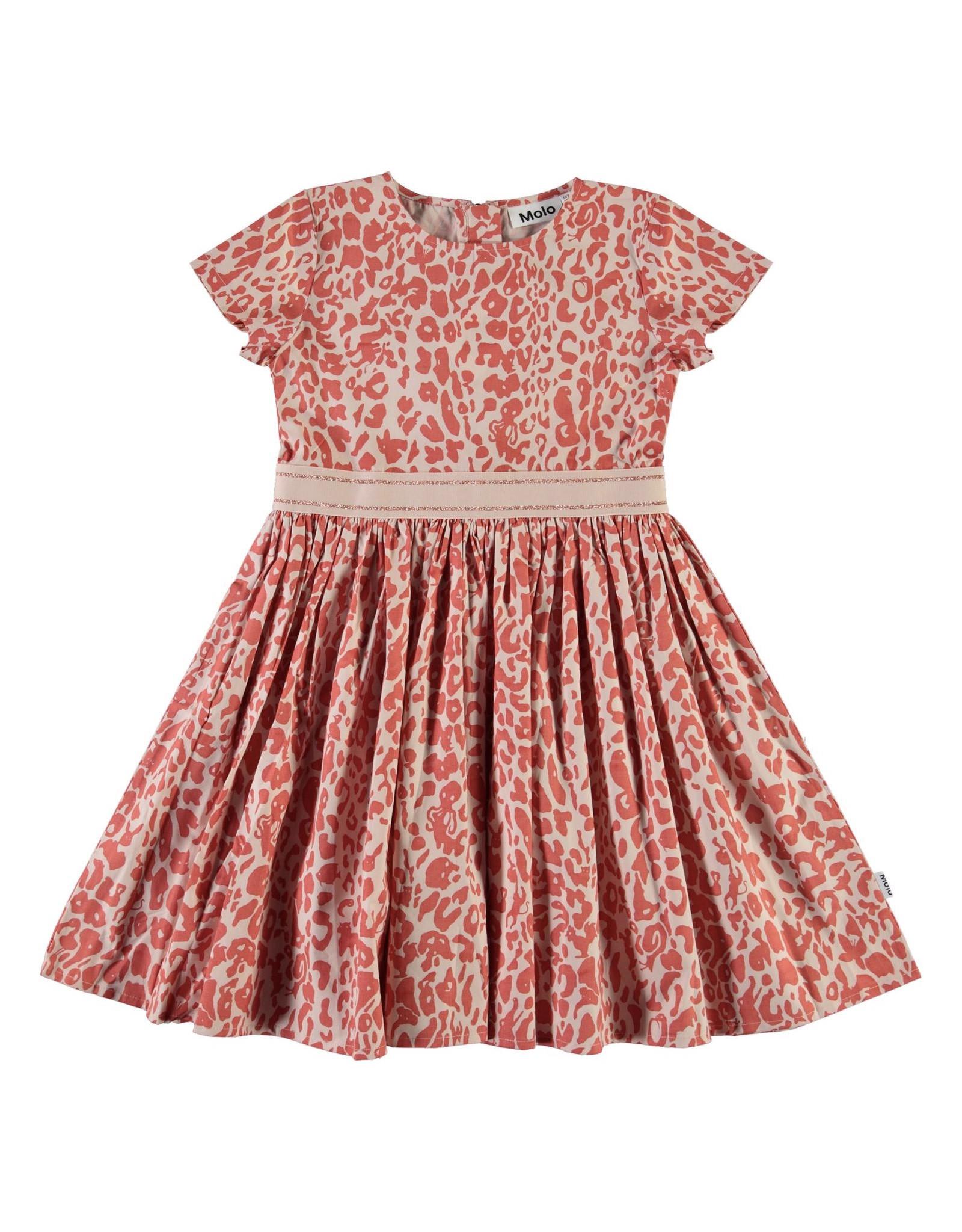 Molo Candy Rose Leopard Dress