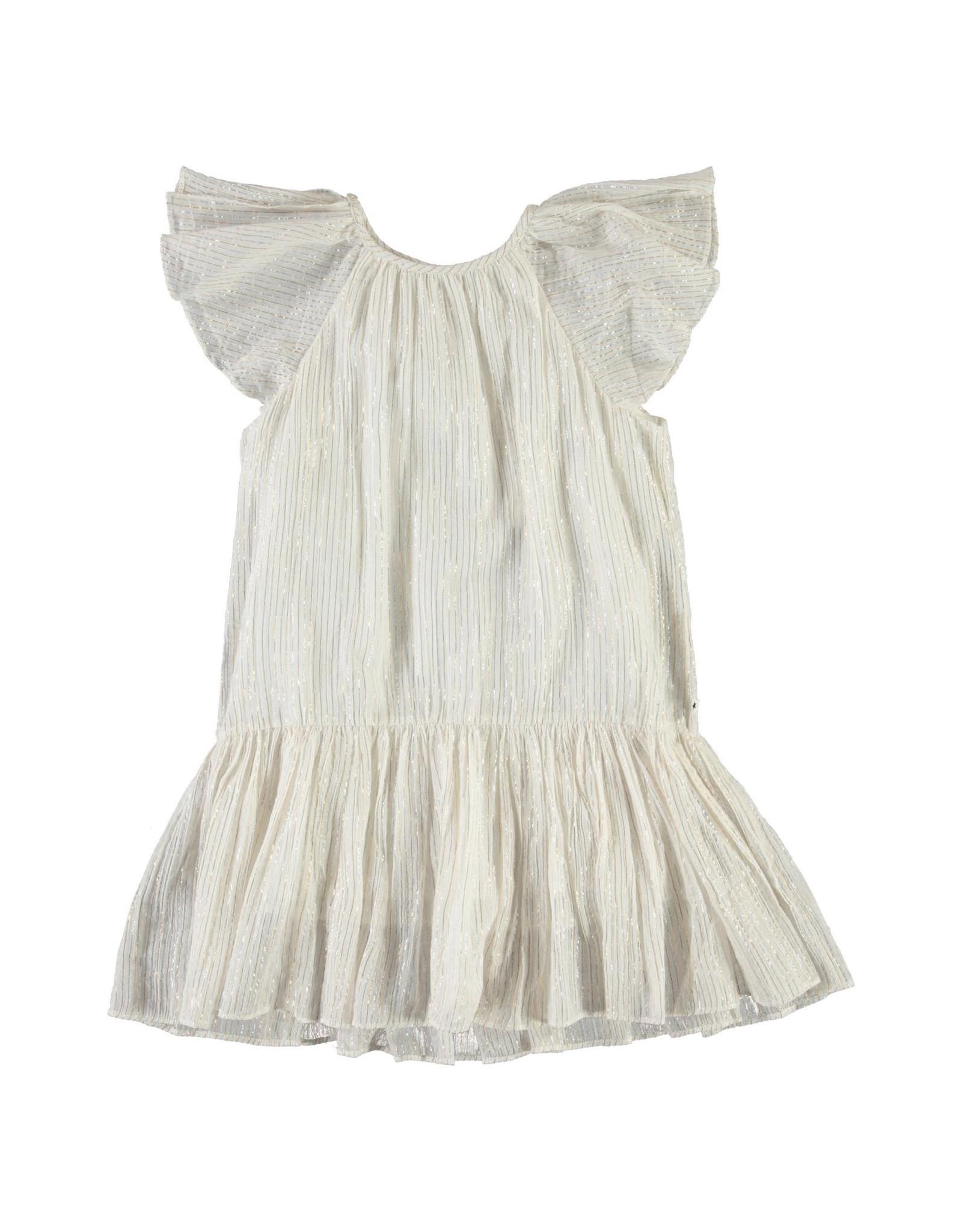 Molo Calee Metalic Stripe Dress