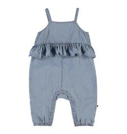 Molo Feodora Summer Wash Indigo Bodysuit