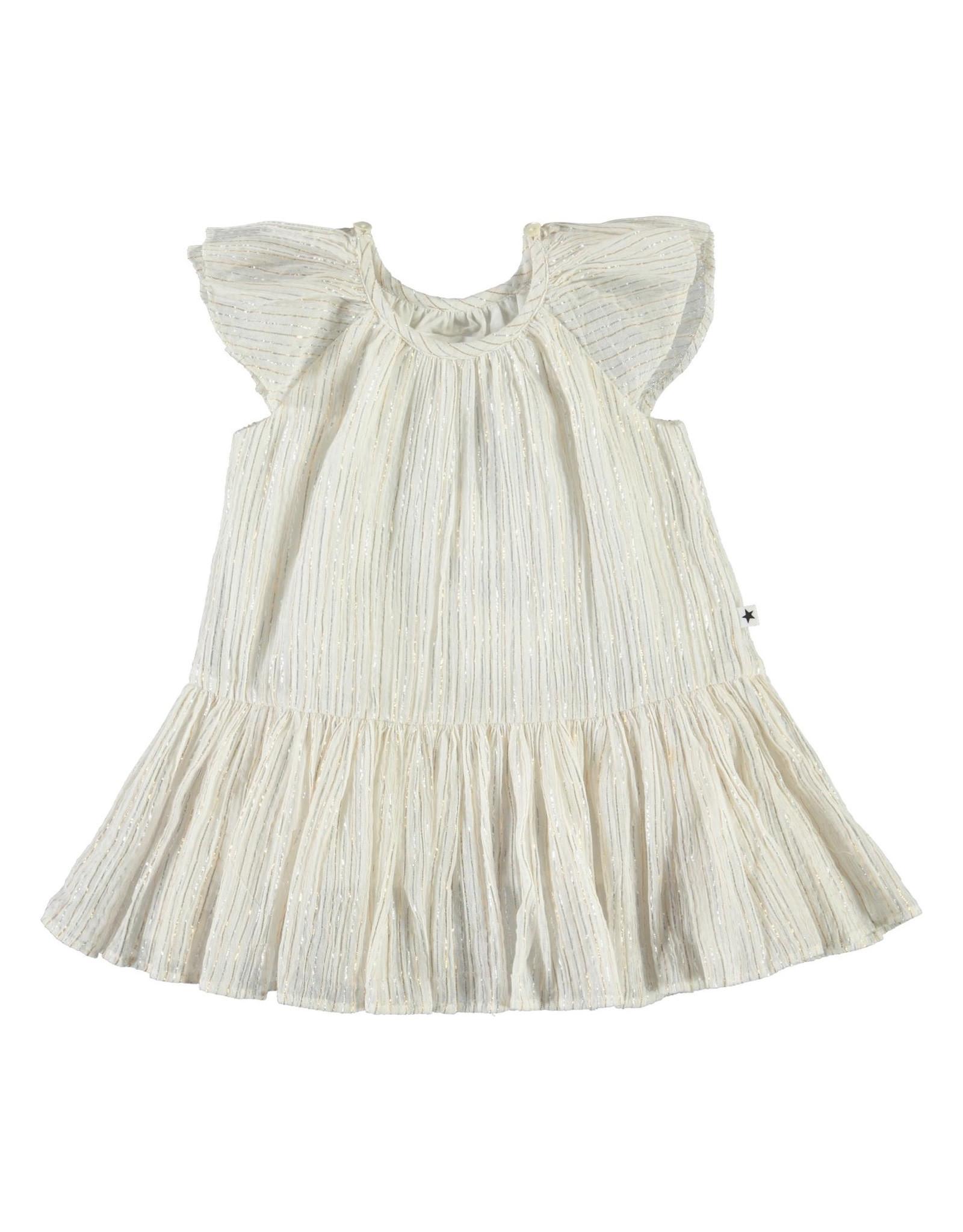 Molo Cindie Metallic Stripe Dress