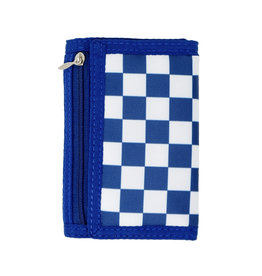 Tiny Treats & Zomi Gems Boys Checkered Blue Wallet