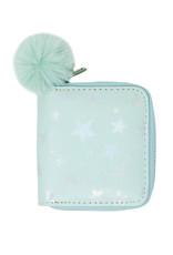 Tiny Treats & Zomi Gems Shiny Star Kids Wallet Green