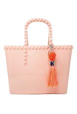 Tiny Treats & Zomi Gems Jumbo Jelly Tote Bag Pink