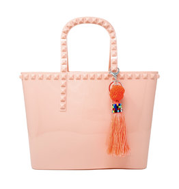 Tiny Treats & Zomi Gems Jumbo Jelly Tote Bag Pink